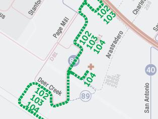 Rutas propuestas de autobuses express