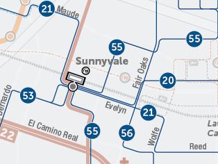 Rutas propuestas de autobuses locales