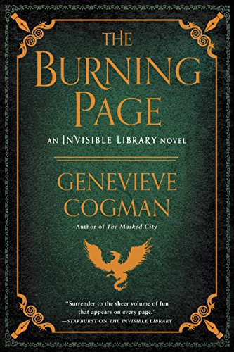 The Burning Page, book 3