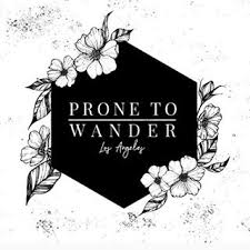 prone to wander logo
