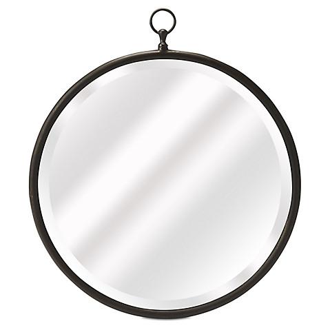 okl : fiona beveled wall mirror : bronze : $199
