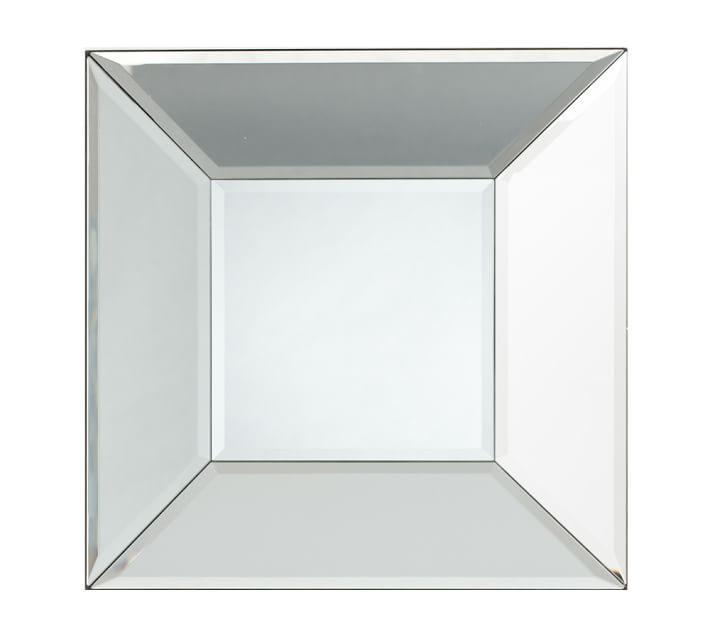 bevel square mirror - $149