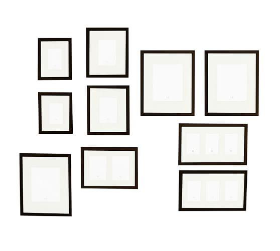gallery frames - Black : 10 : $280