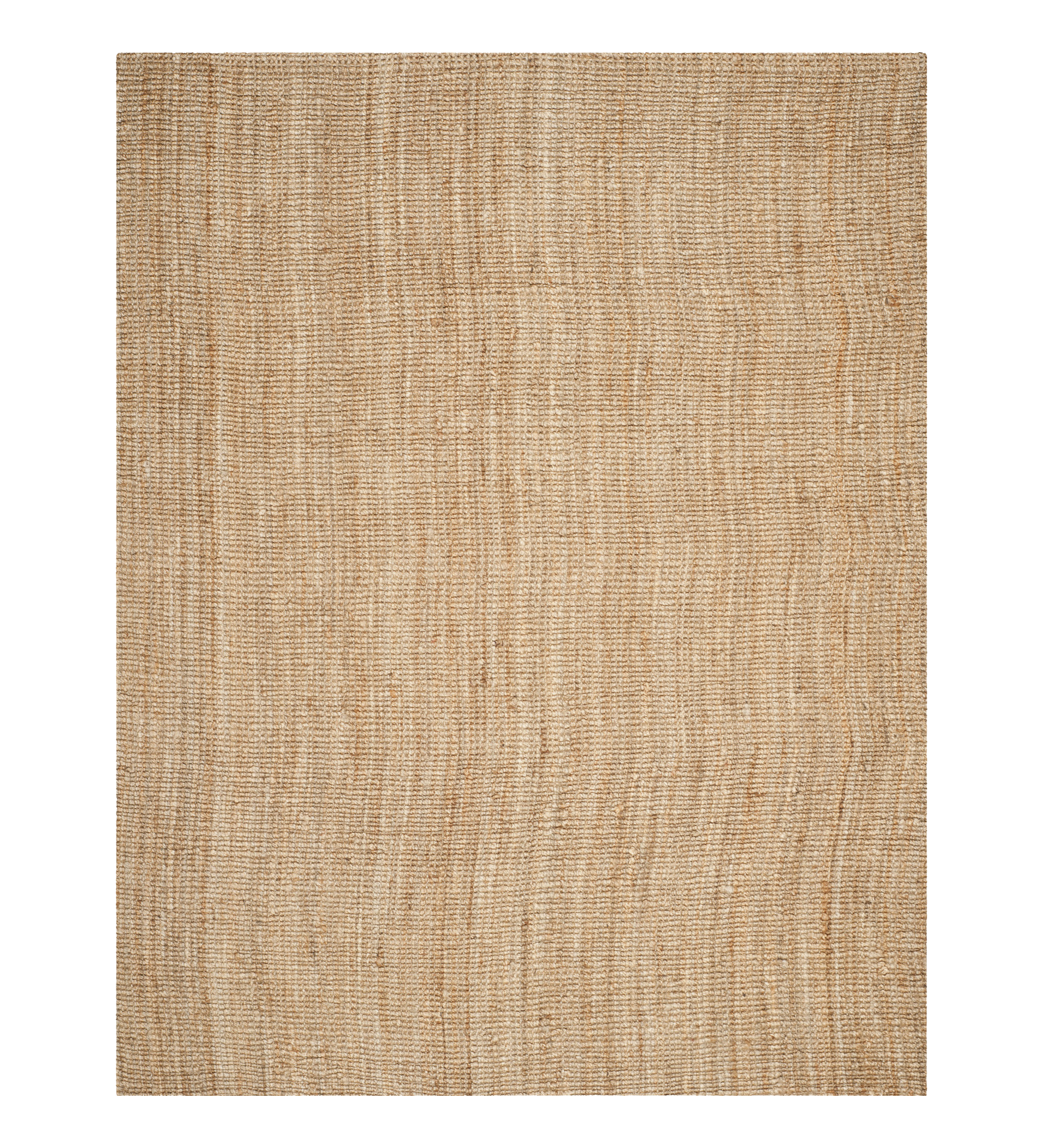 Natural basket weave jute rug : 9x12' : $370