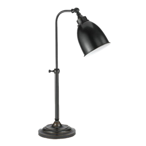 bronze pharmacy table lamp : $109