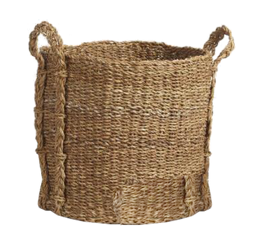 Natural Seagrass Basket  :  large  :  $34.99