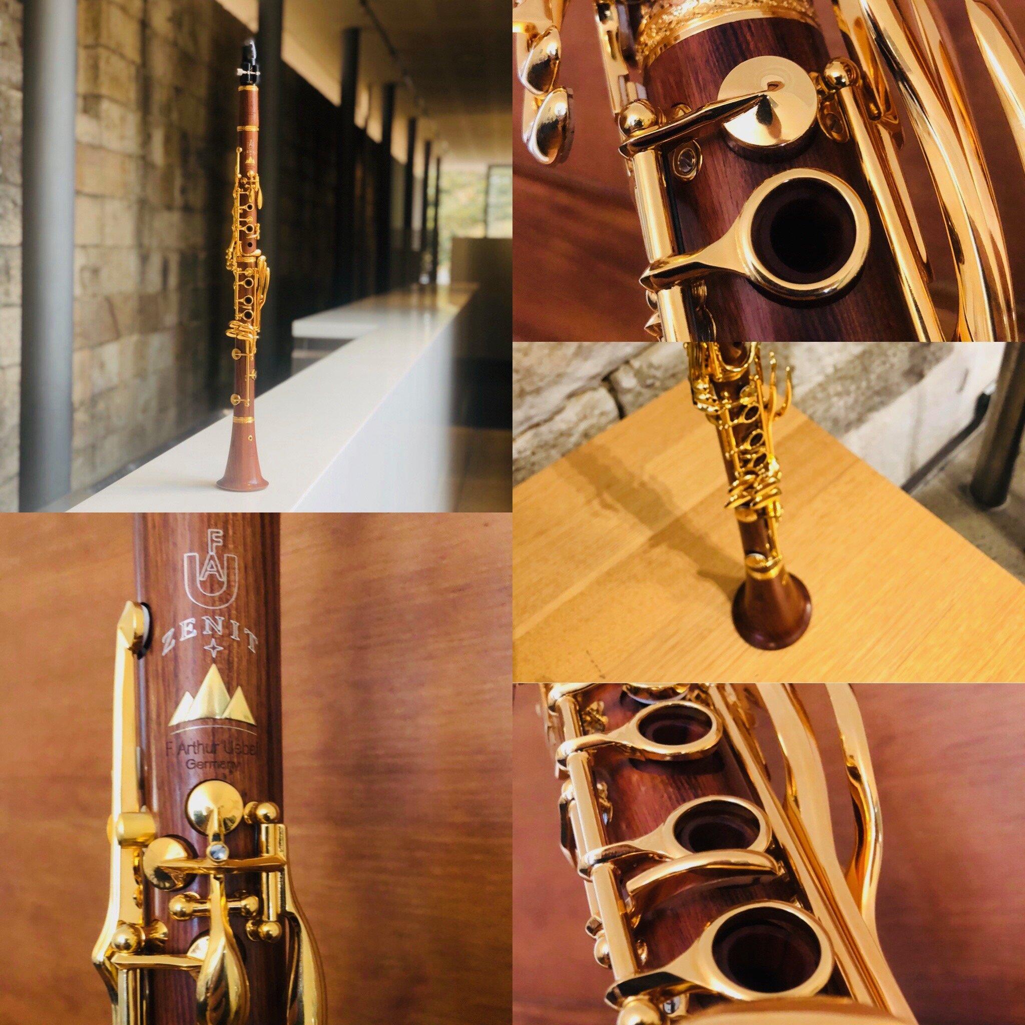 F.Arthur Uebel Zenit 24K Mopane Bb Clarinet