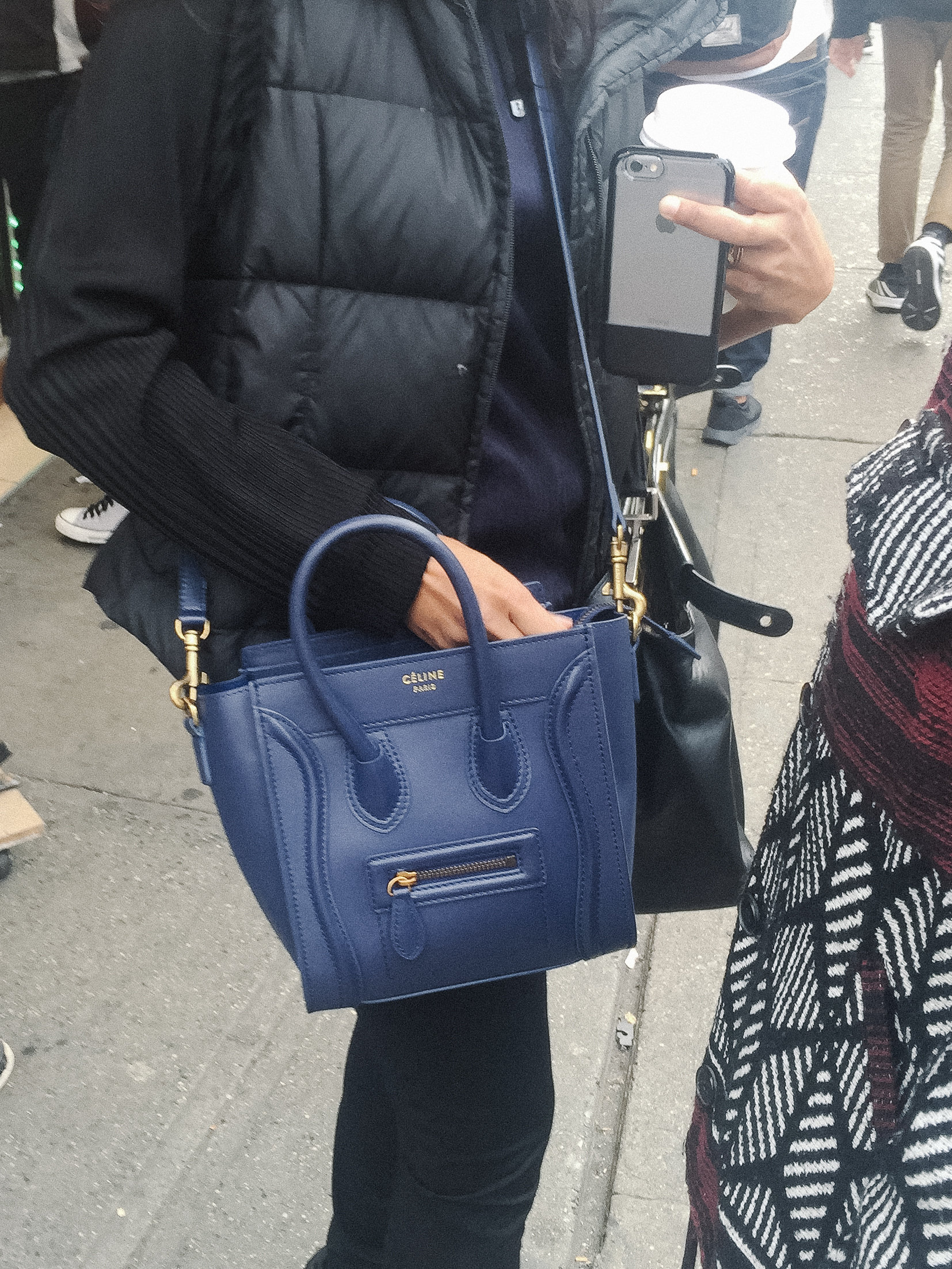 I got it! The Celine Nano Luggage bag. But clearly it's fake. Below are five ways you can tell if a Nano is fake or the real deal.