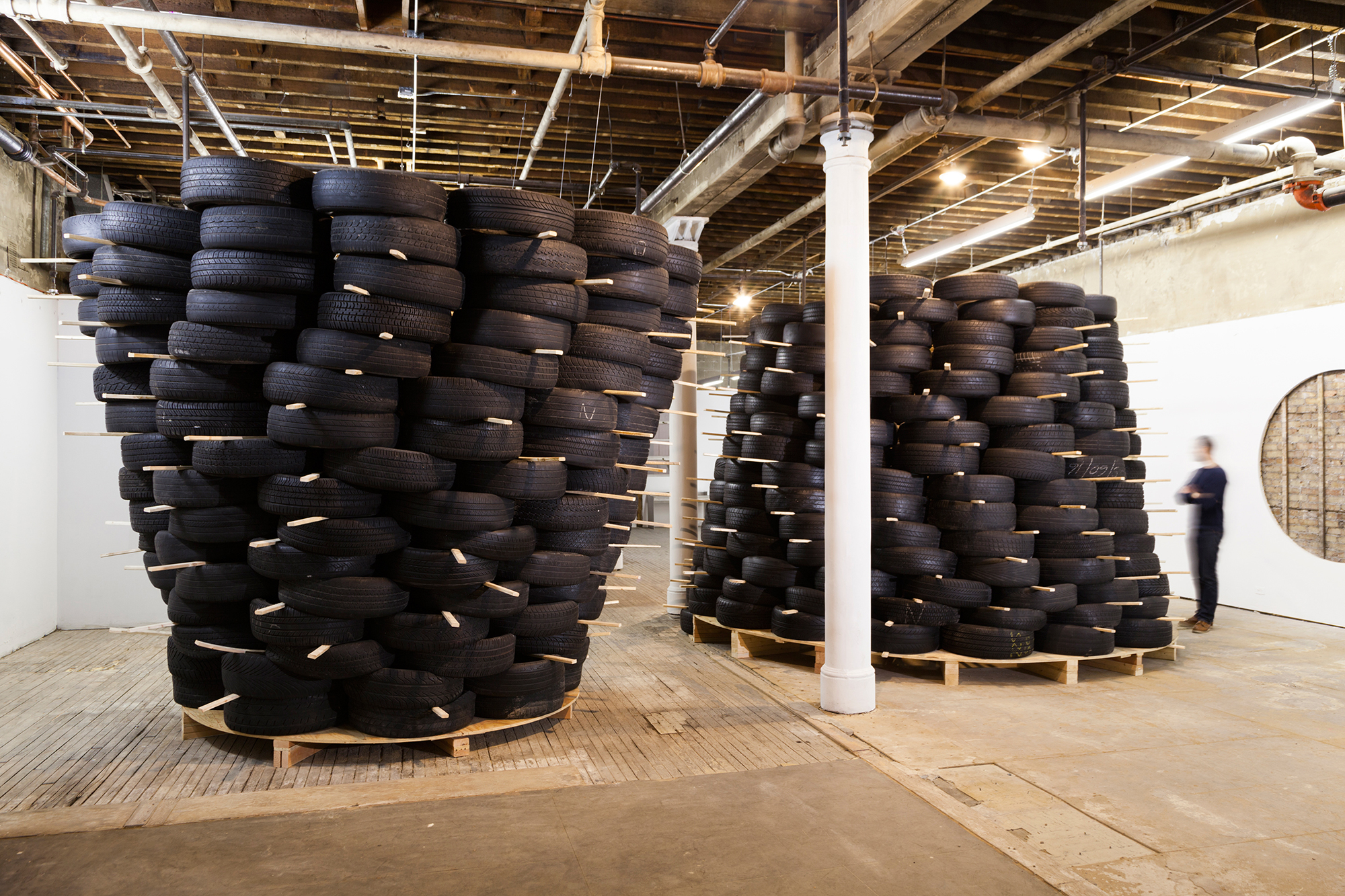 Volume Gallery installation for architects Charlie O'Geen and Frank Fantauzzi, Chicago, IL