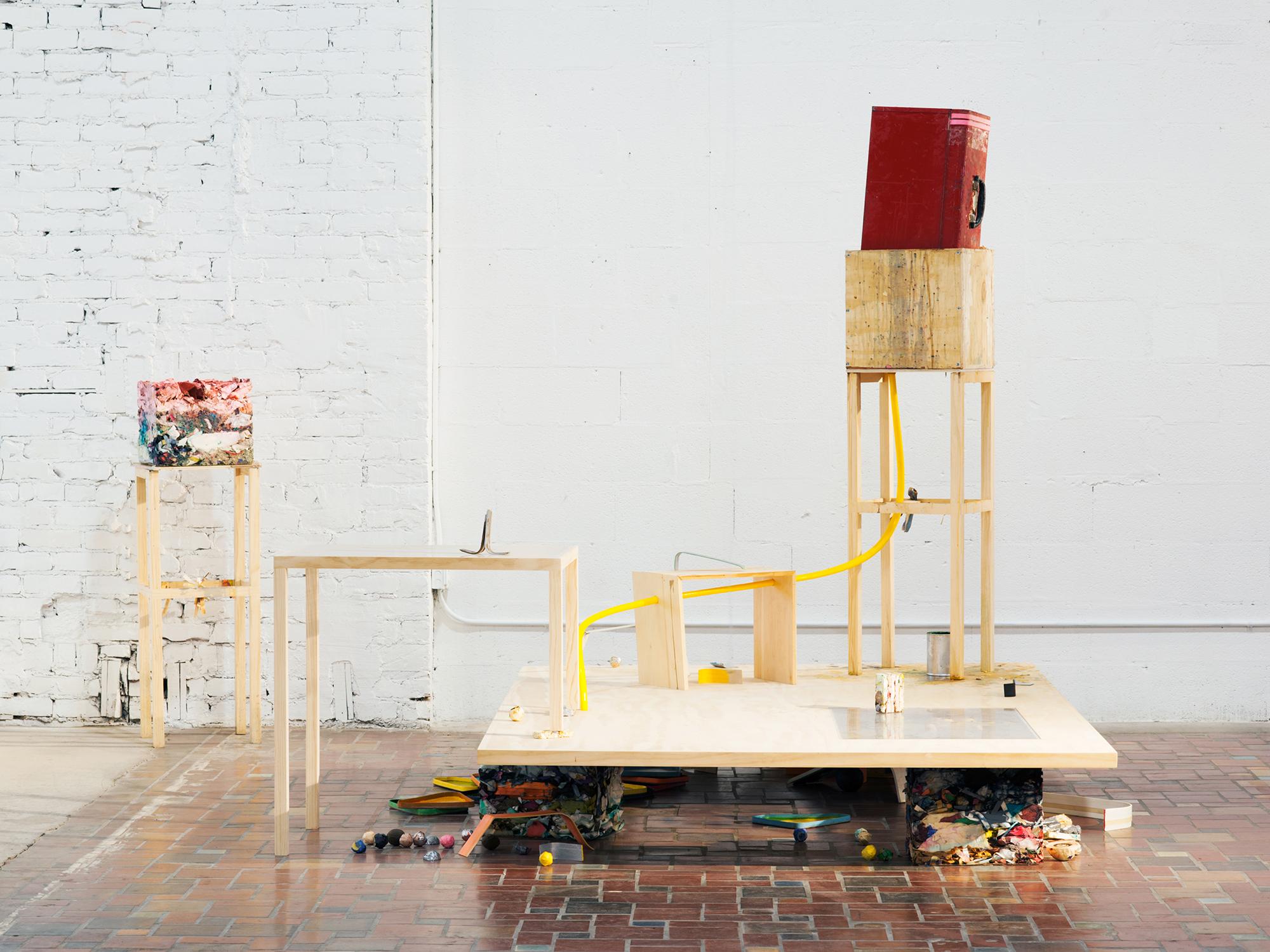 Museum of Contemporary Art Detroit installation for artist Terry Conrad, Detroit, MI