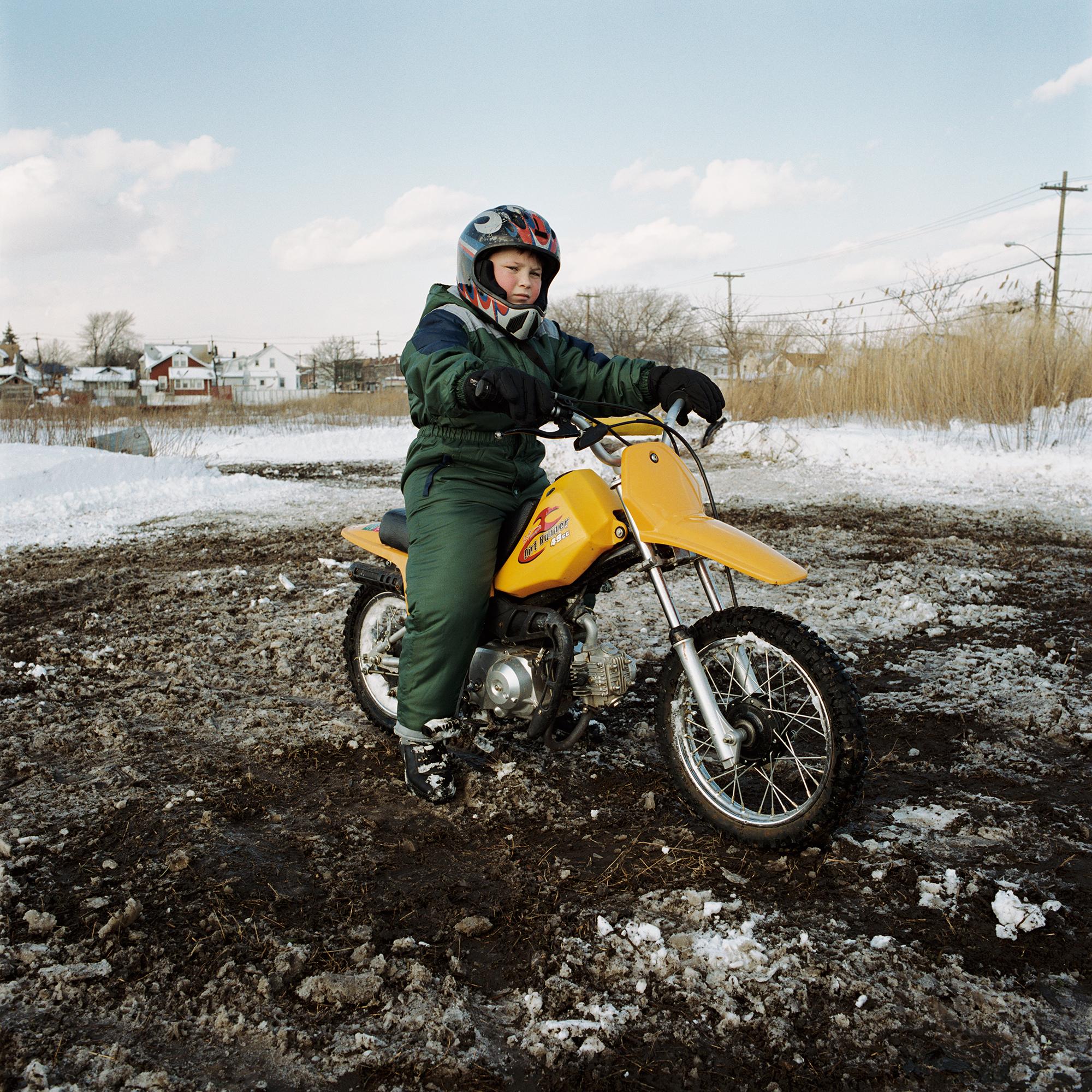 motorcyclist, old howard beach, ny