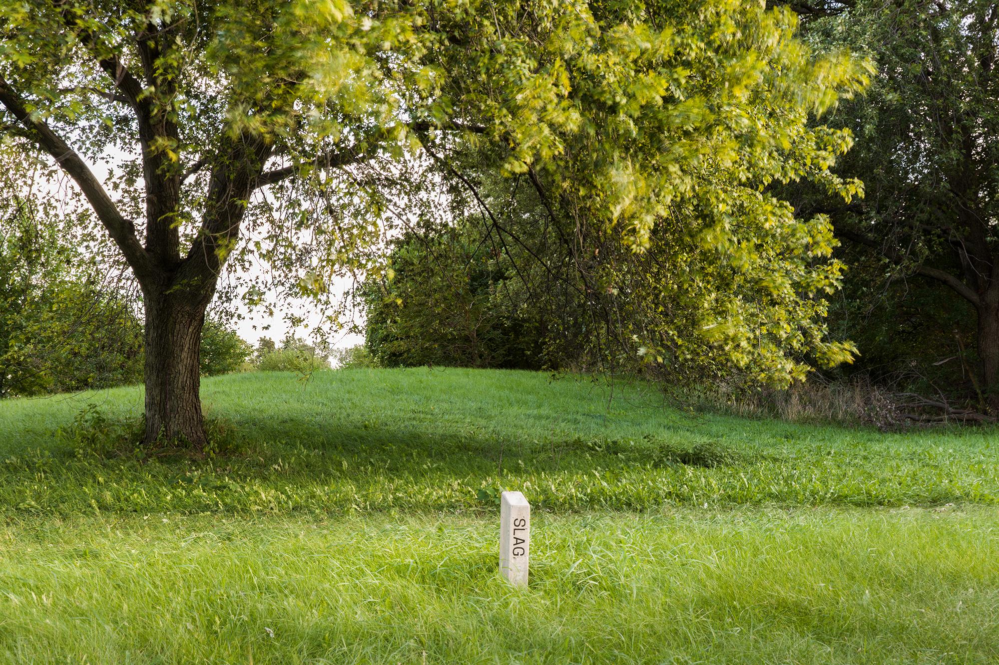 in situ slag marker