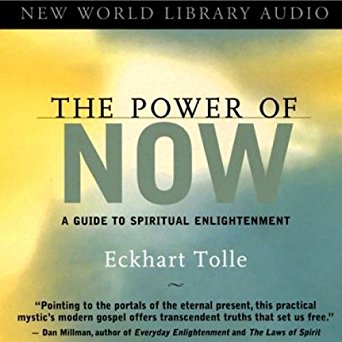 The Power of Now by Eckhart Tolle - Eckhart Tolle offers simple language in a question and answer format. The words themselves are the signposts to guide you on your journey into the now.