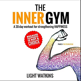 The Inner Gym by Light Watkins - This audiobook is ideal for anyone looking for a structured way to incorporate simple life-habits that have been proven to have a profound impact on your state of happiness.