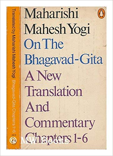 Maharishi Mahesh Yogi On The Bhagavad-Gita A New Translation and Commentary (1969 version)by Maharishi Mahesh Yogi  - The Bhagavad-Gītā presents a timeless formula for rising above the mundane problems of life to enjoy eternal freedom and fulfilment in higher states of consciousness; it brings to light a complete science of life and art of living relevant to every generation, based upon the simple yet profound experience of the inner Self-the infinite, eternal reservoir of creativity and intelligence that lies within us all.