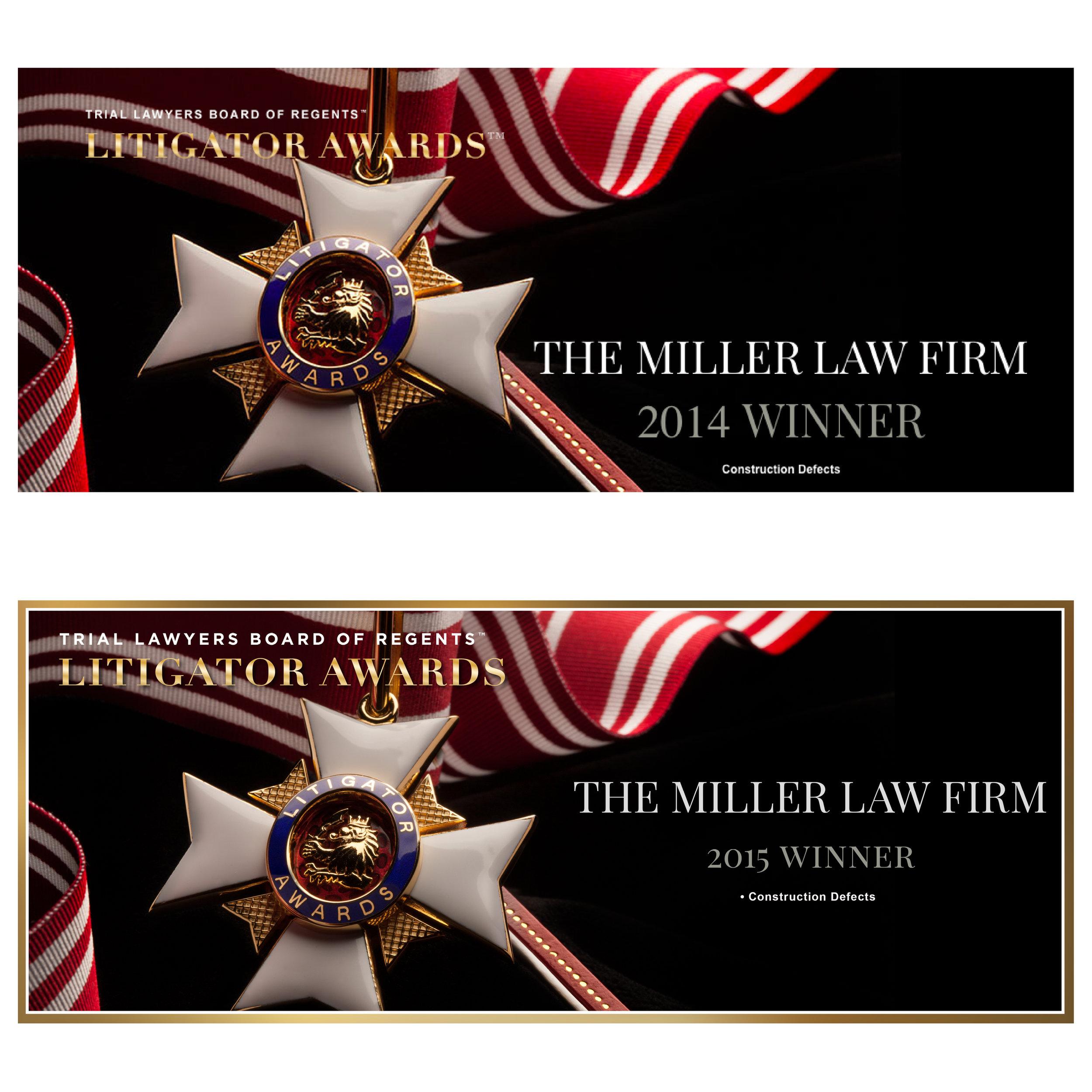 Litigator Awards