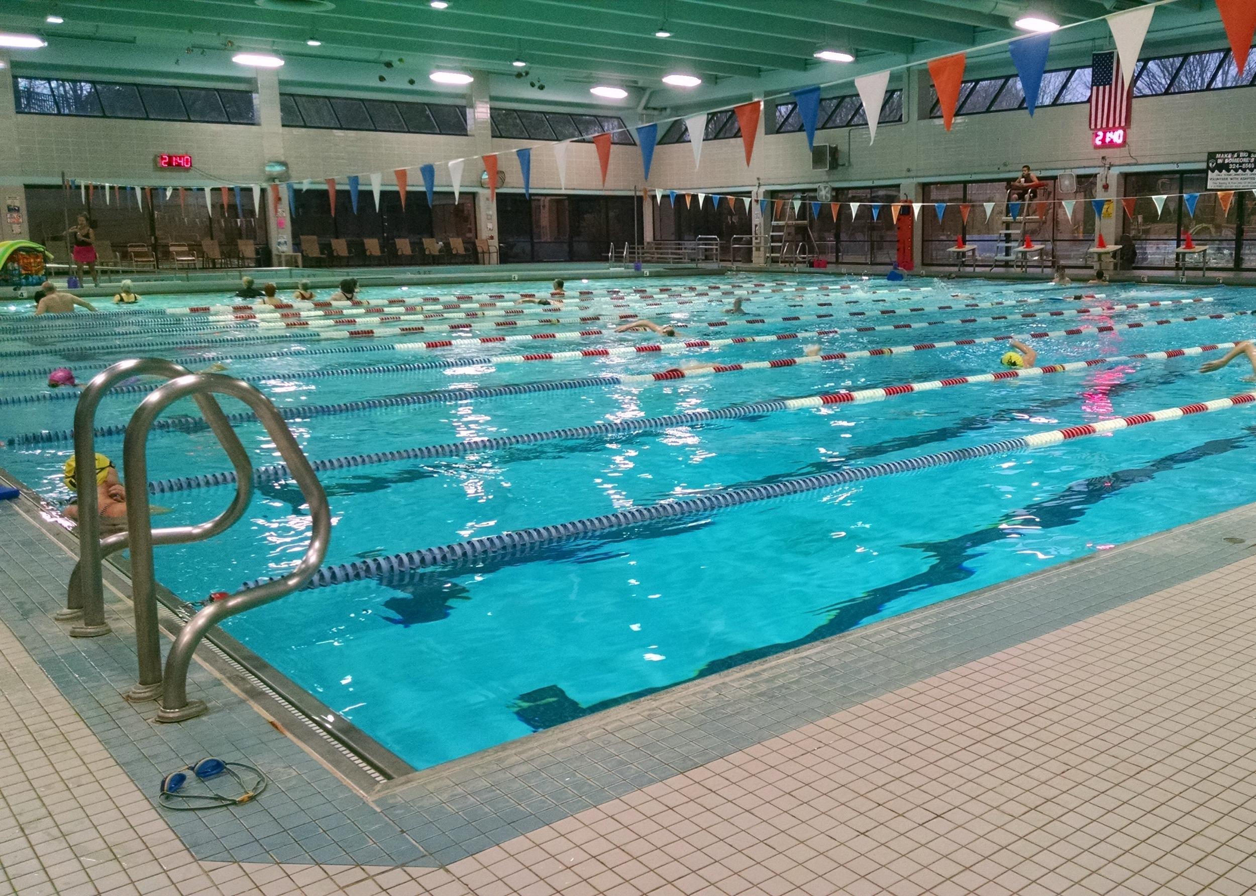 This week, Pool time = pain free time