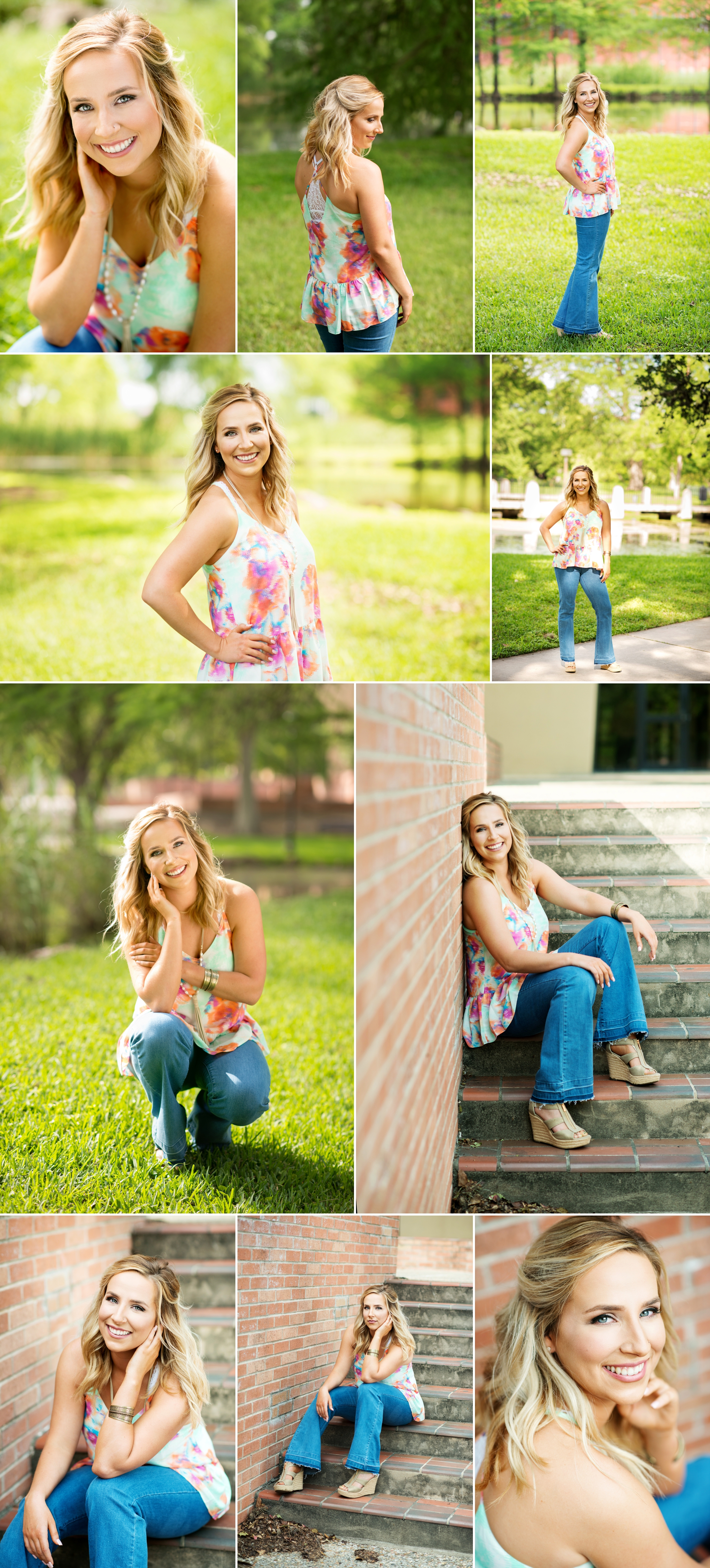 Austin's College Senior Portrait Photography