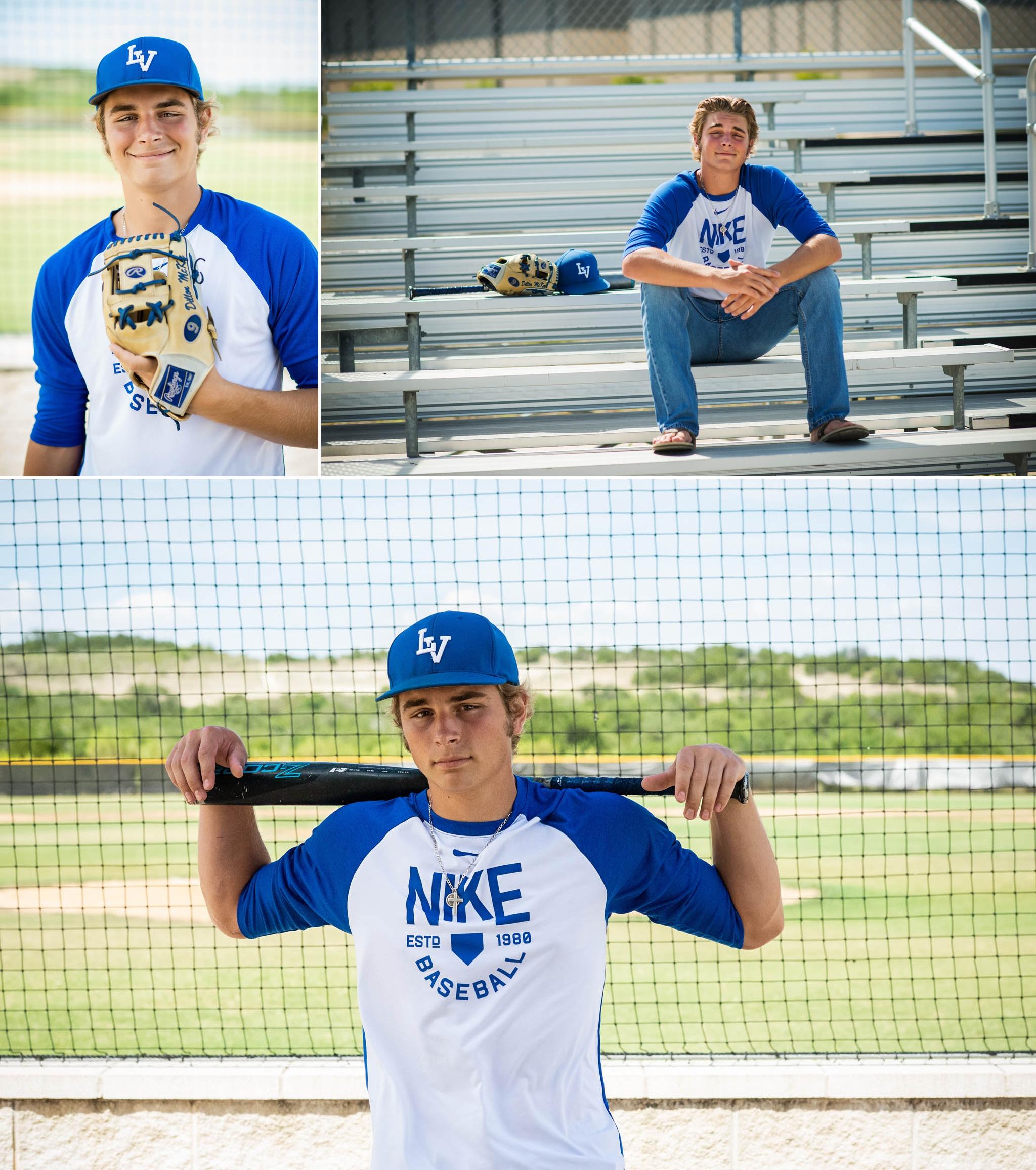 Austin Senior Portraits, baseball theme, boys senior pictures