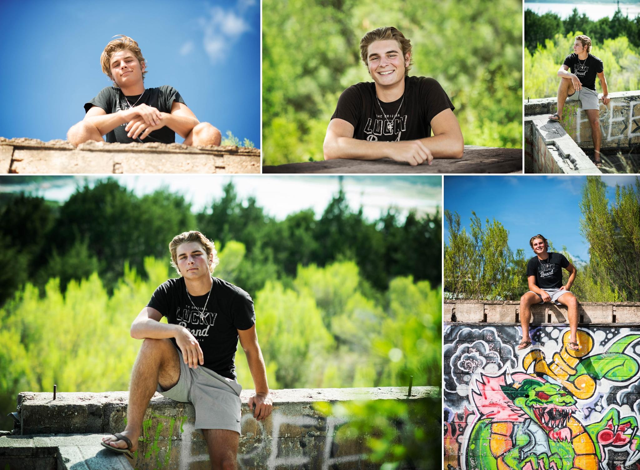Austin Senior Photography, boys senior pictures