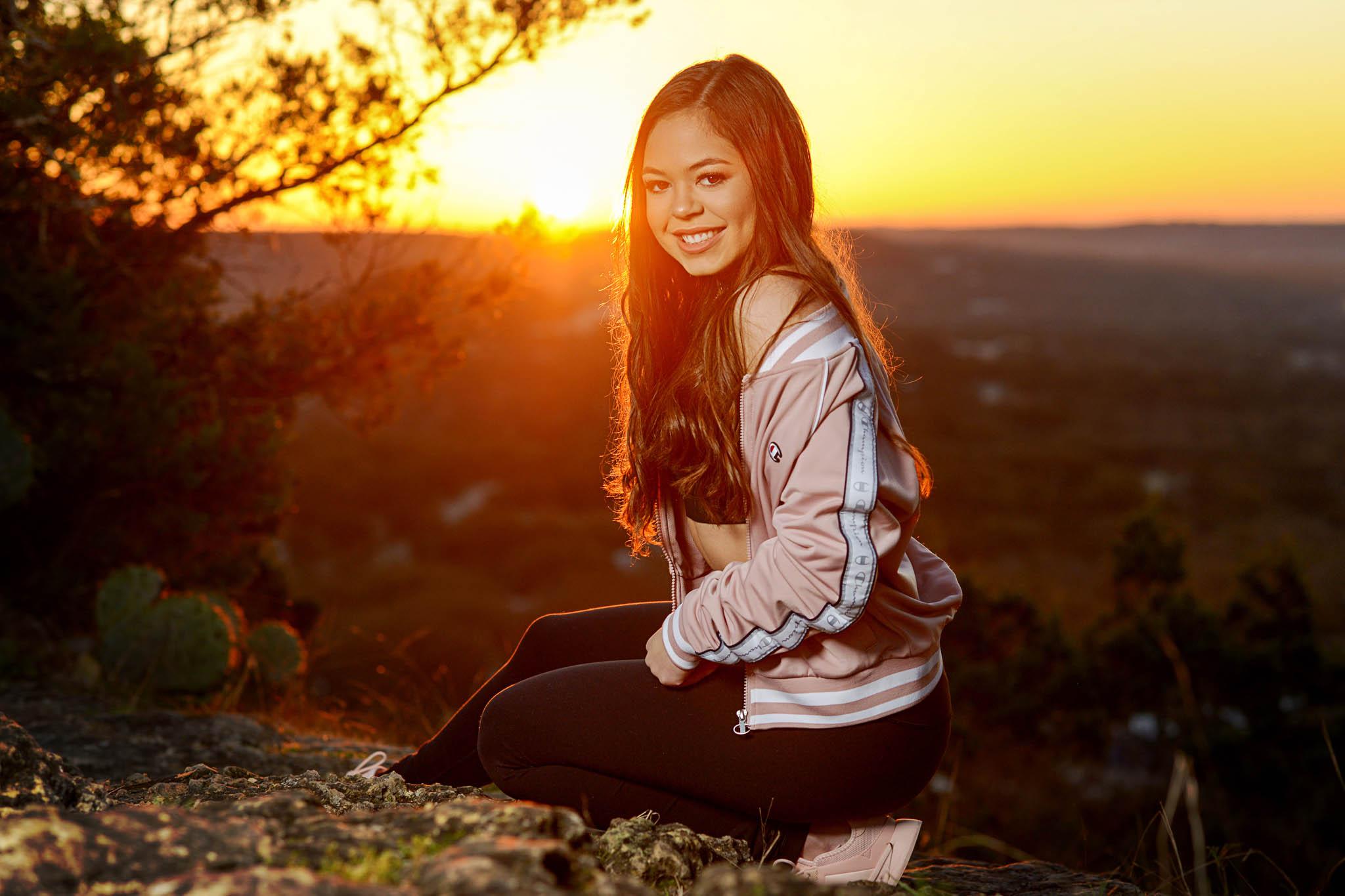 Austin Senior Photographer, sunrise