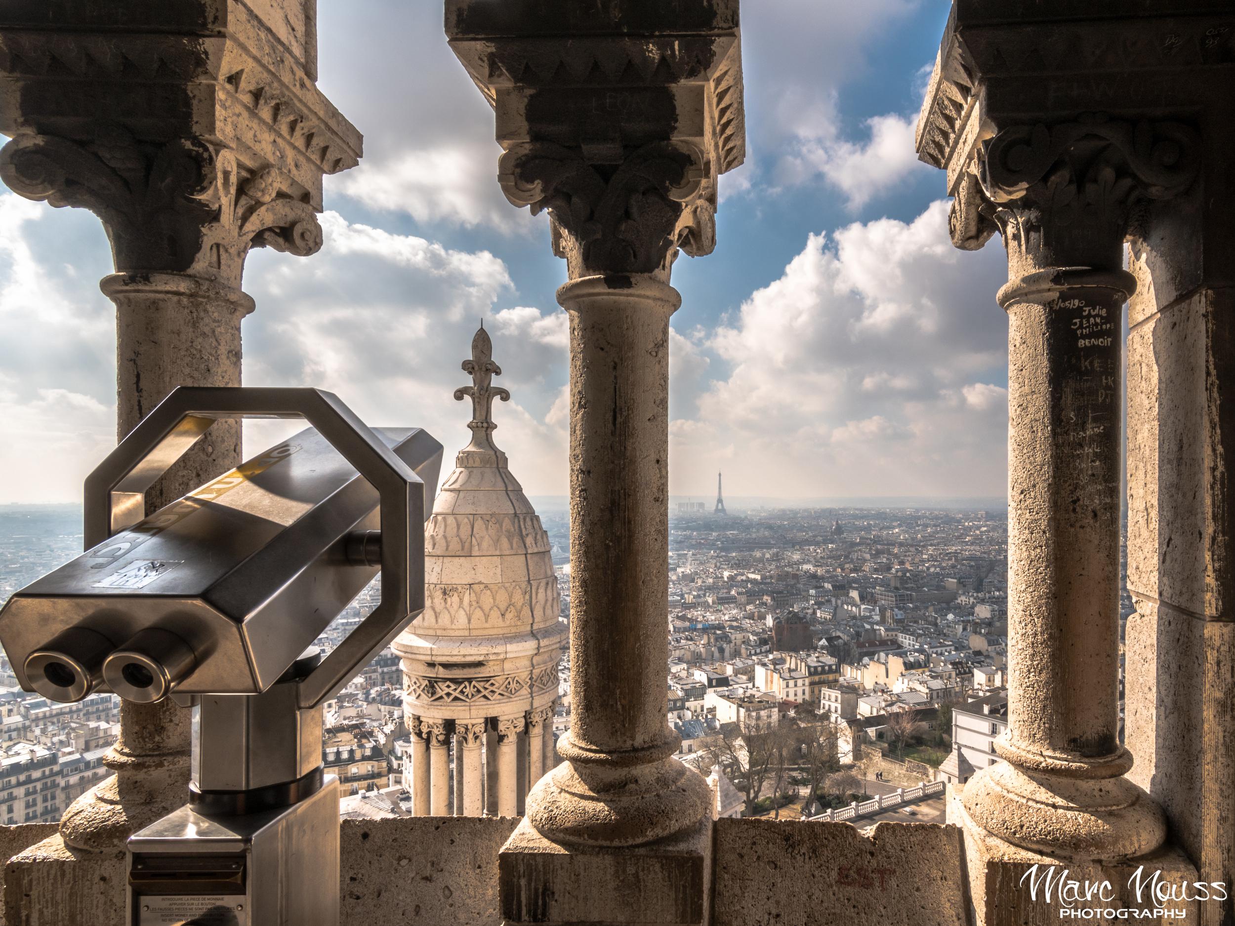 Eiffel Tower from Sacré Coeur