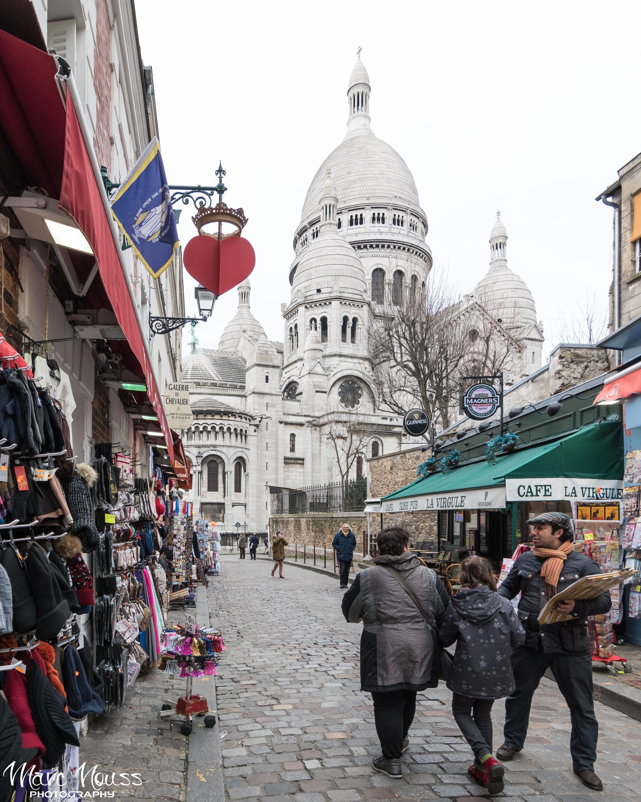 Montmartre Street Life
