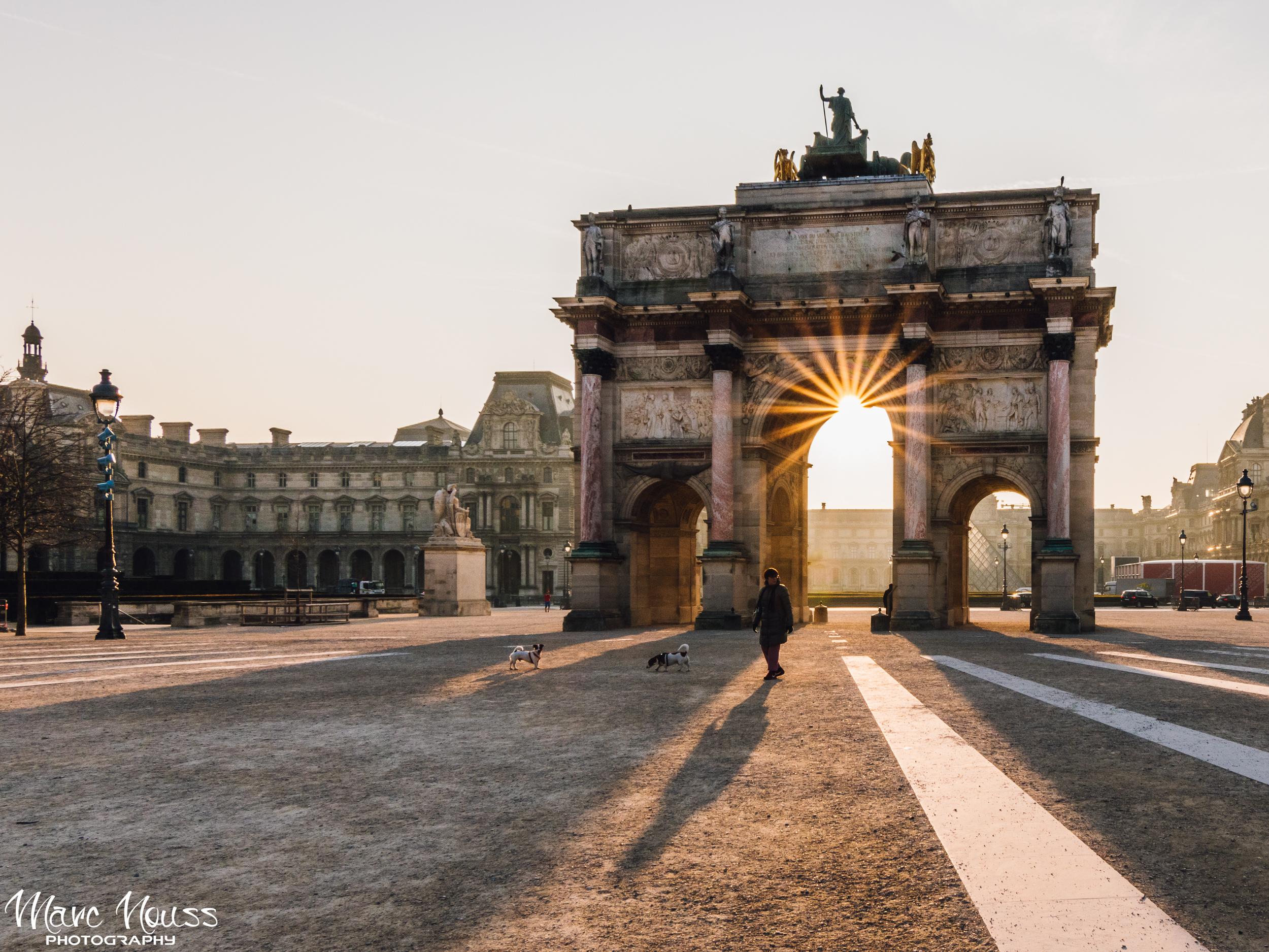 Morning Lights at Carrousel du Louvre