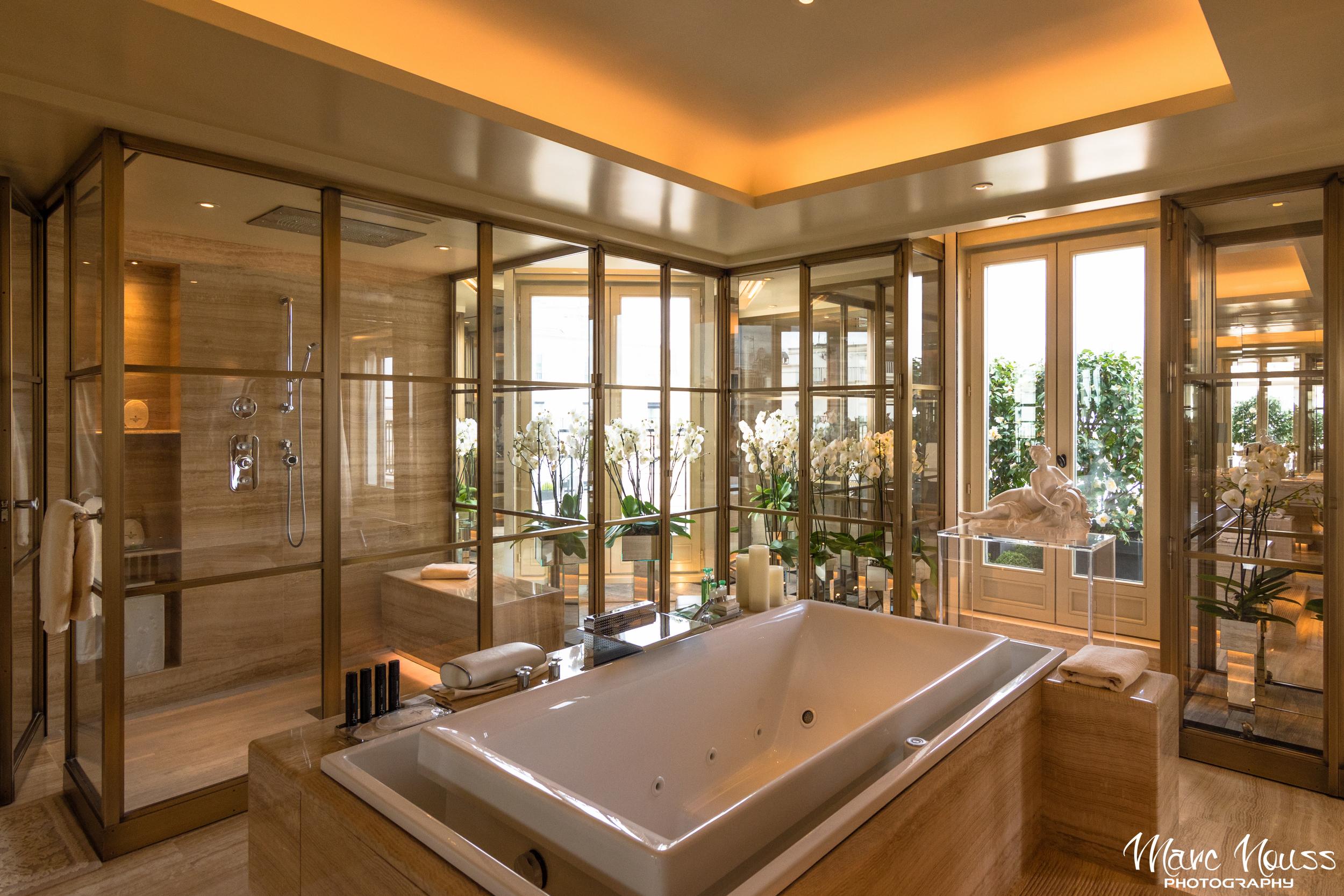 Bathroom inside the Penthouse Suite!