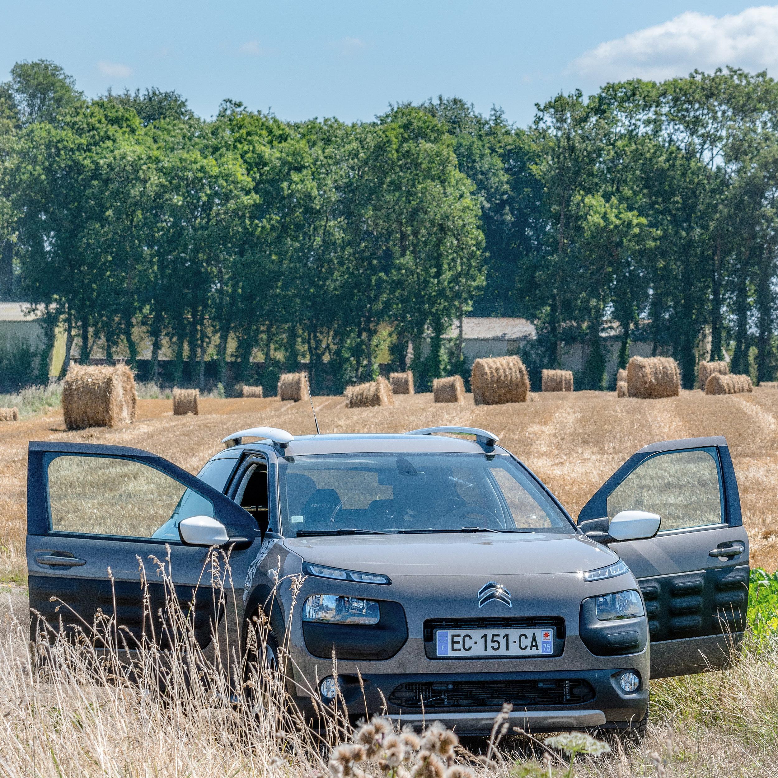 4x4 mode in the wheat fields