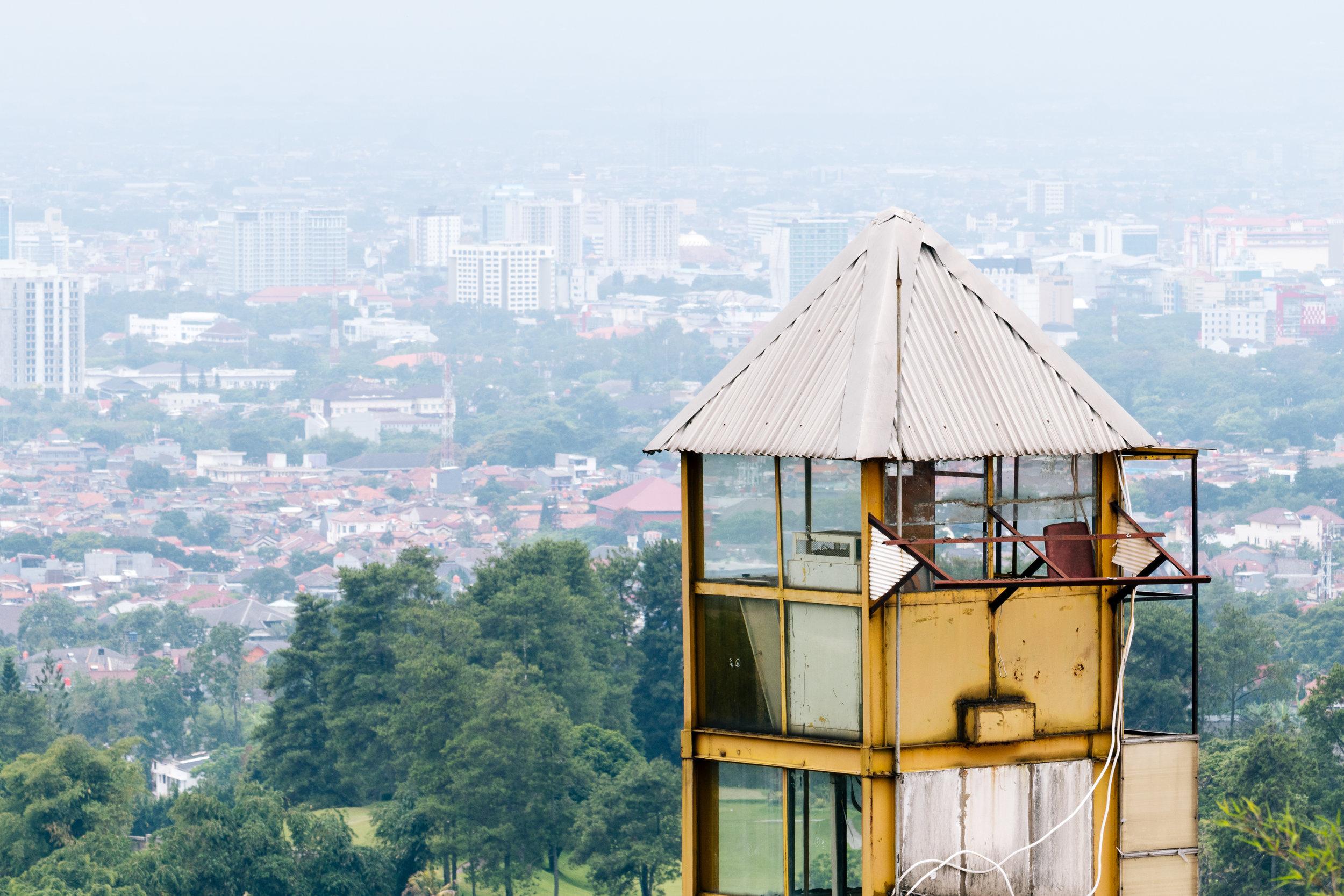 View over Bandung !