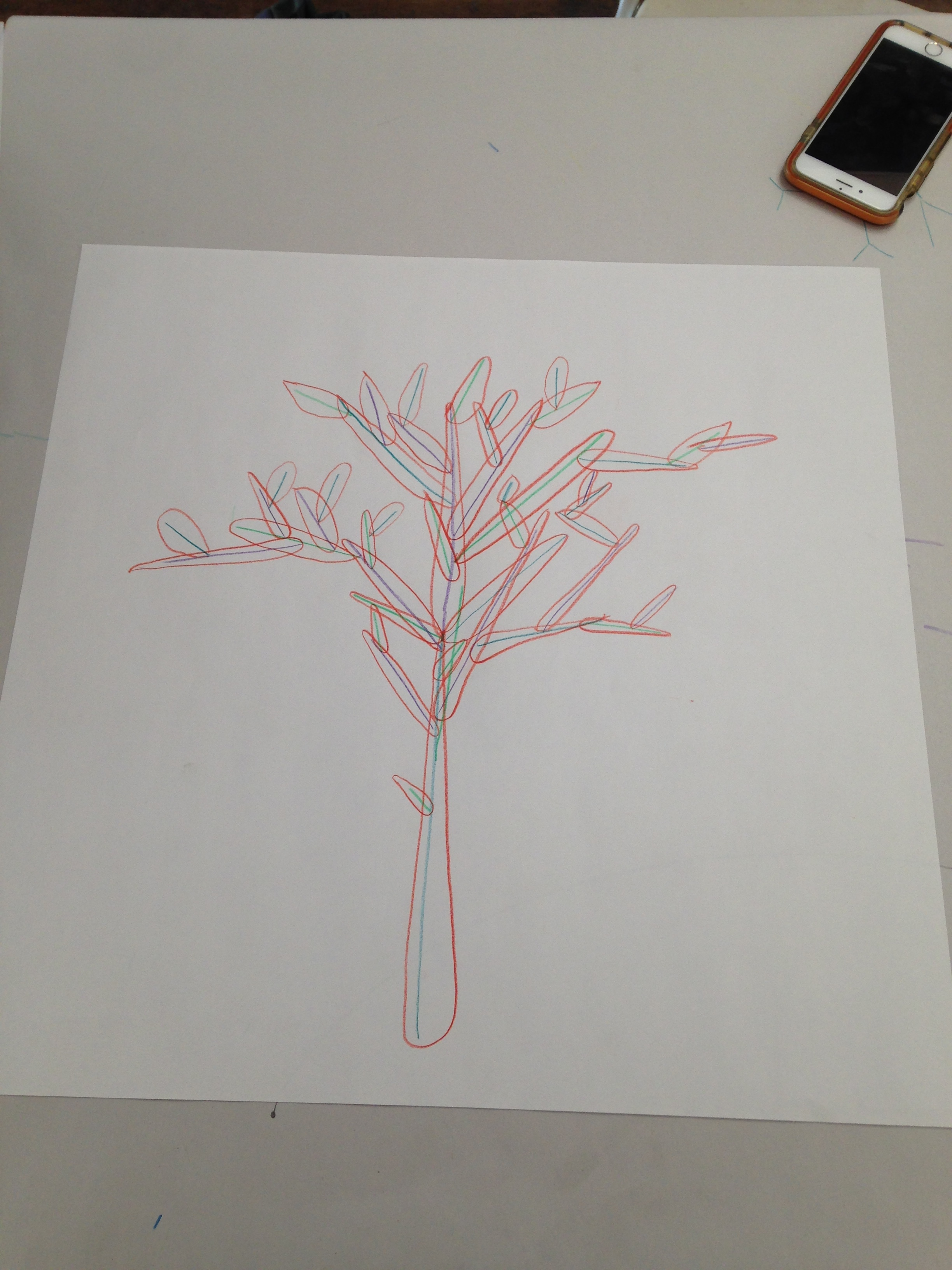 Conditional Tree Drawing