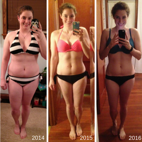 Three Year Transformation Photo Front
