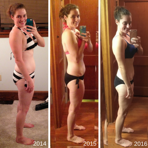 Three Year Transformation Photo Side