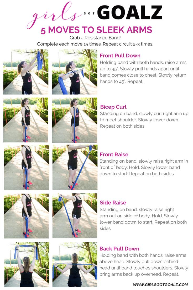 5 Moves To Sleek Arms. Girls Got Goalz