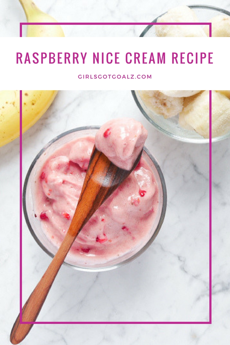 Raspberry Nice Cream Recipe, No Church Healthy Ice Cream