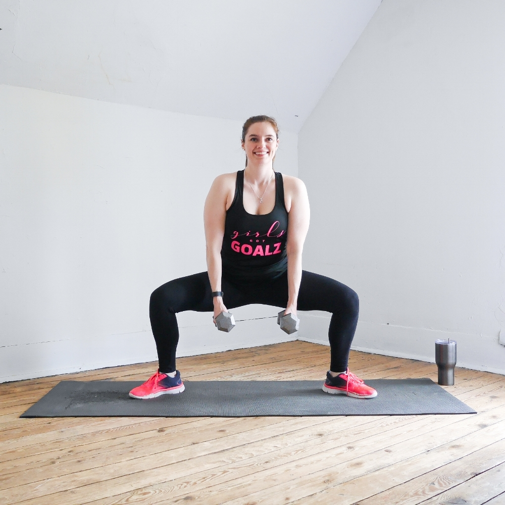 LEG + BOOTY WORKOUT from the DYST Challenge!