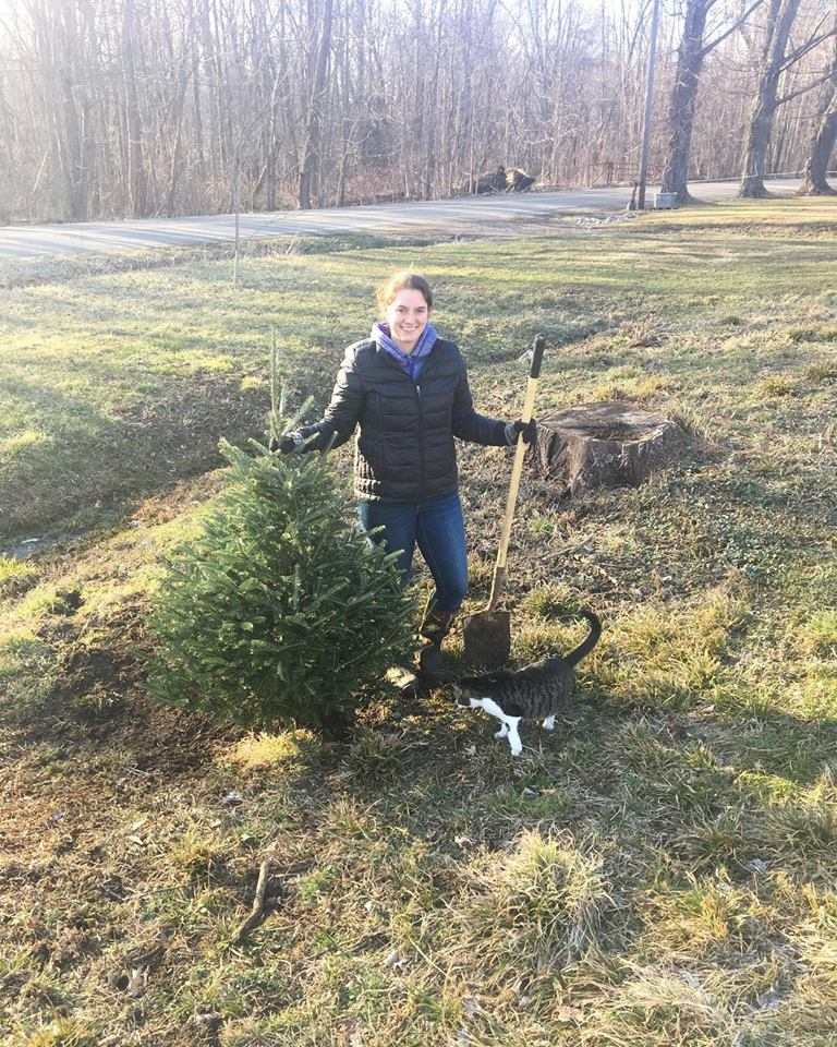 Replanting Christmas Tree Girls Got Goalz