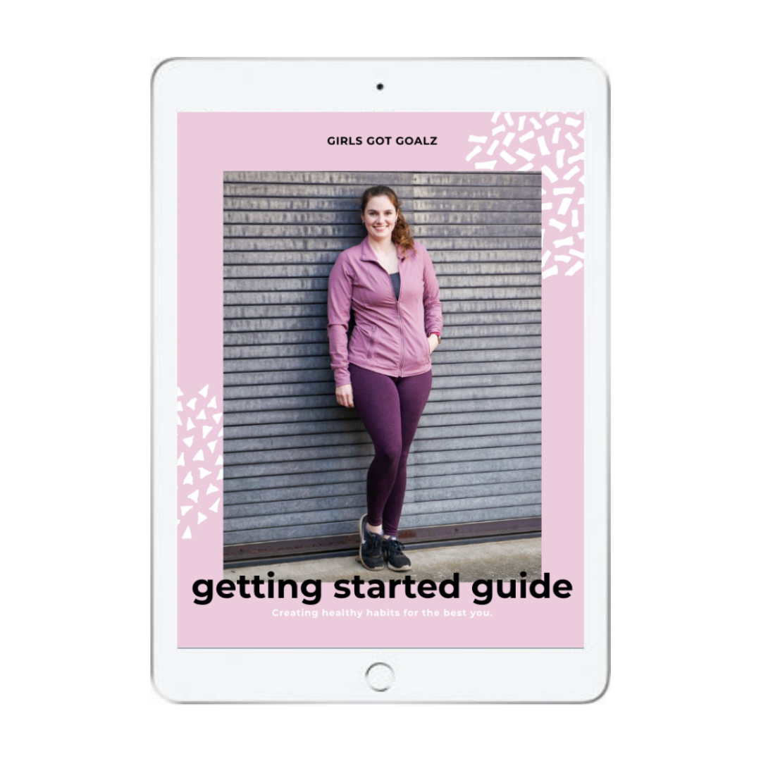 Getting Started Bundle from Girls Got Goalz. Get Started creating healthy habits for the best you | Healthy Habits Ebook | Fitness | Workout Guide