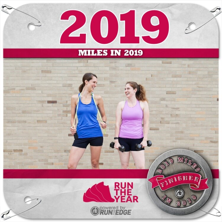 Motivated Goalz Run The Edge 2019 Miles in 2019
