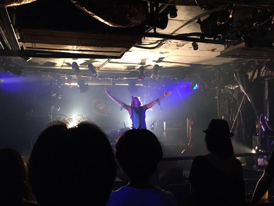 The Sonic Universe, a.k.a. Alex Arndt live in Tokyo, Japan