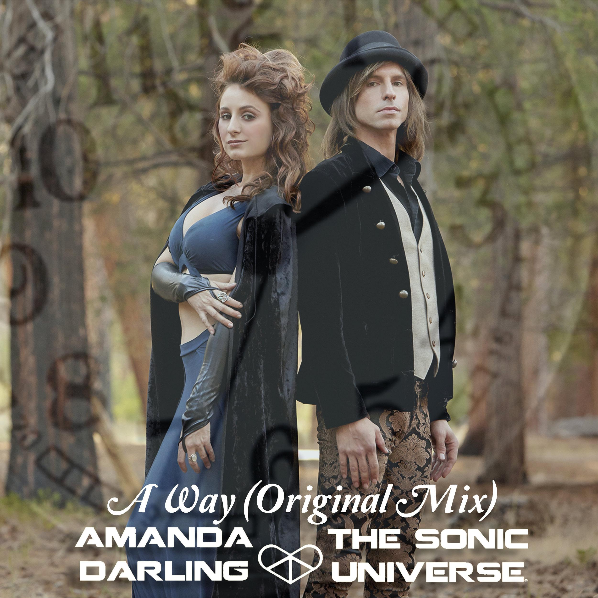 Amanda Darling, The Sonic Universe - A Way (Original Mix) album cover Beatport release - Alex Arndt