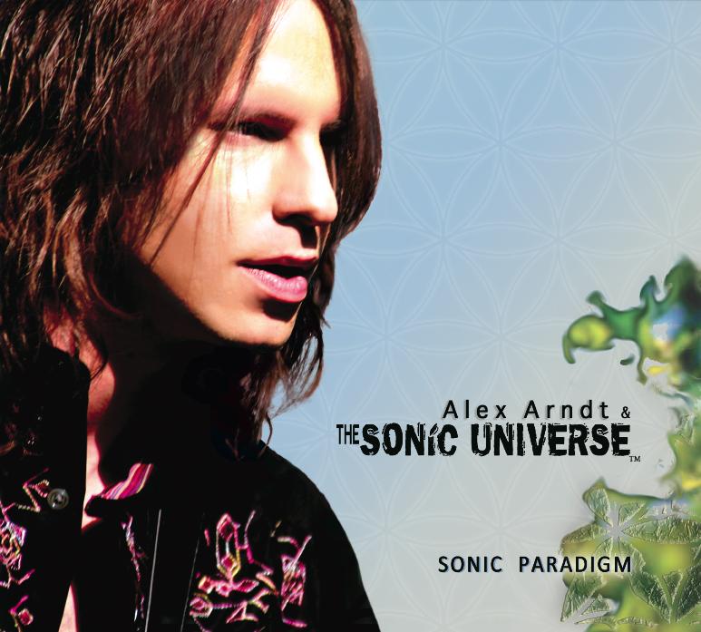 Alex Arndt & The Sonic Universe - Sonic Paradigm album cover