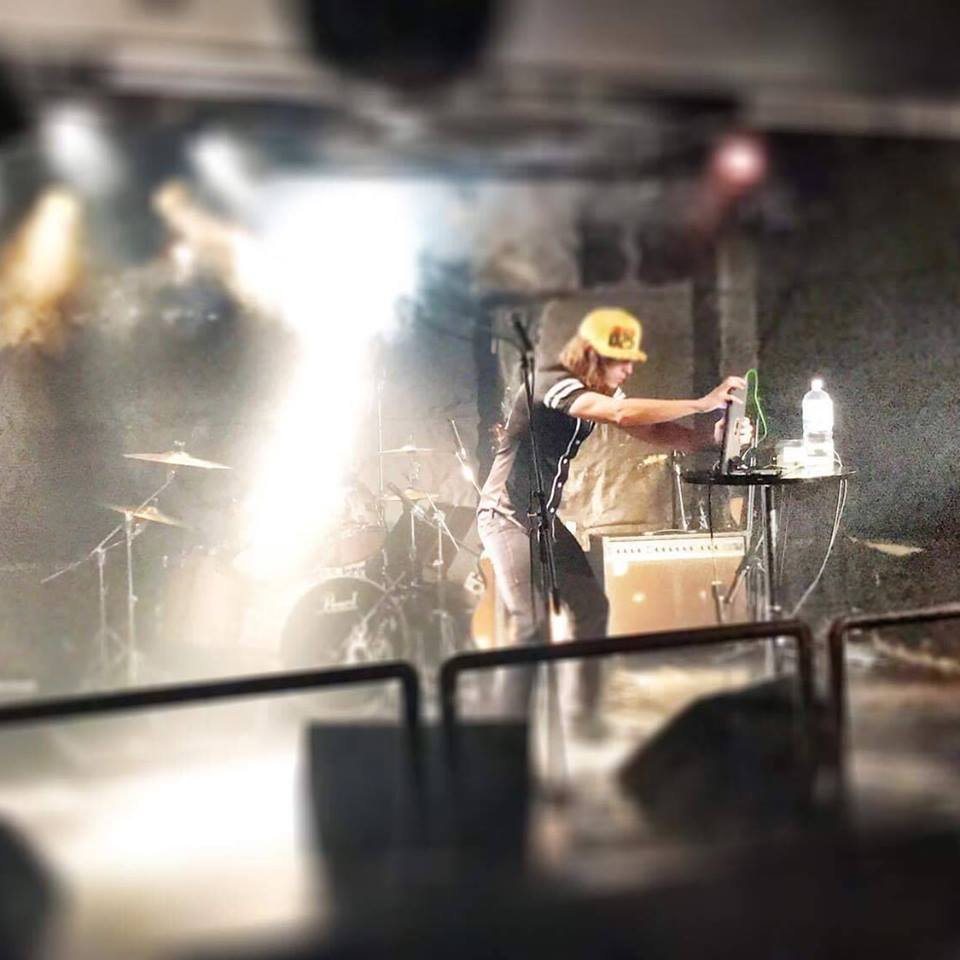 Alex Arndt performing in Tokyo - Japan tour - Photo by John Goff