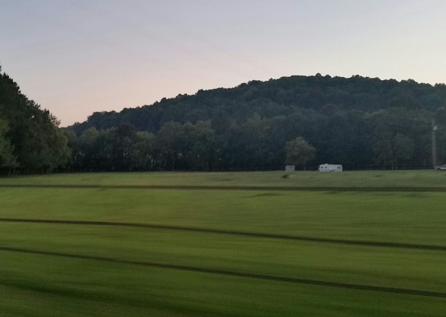 Taken on the way back, somewhere in Kentucky