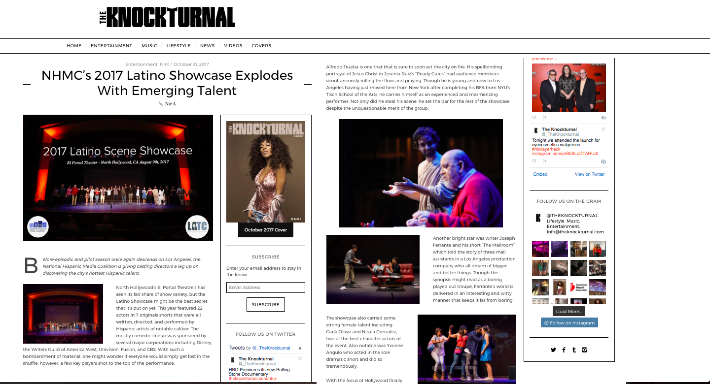 The Knockturnal - Latino Showcase Review!
