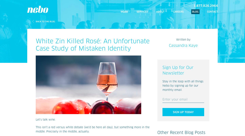 Nebo Agency Blog