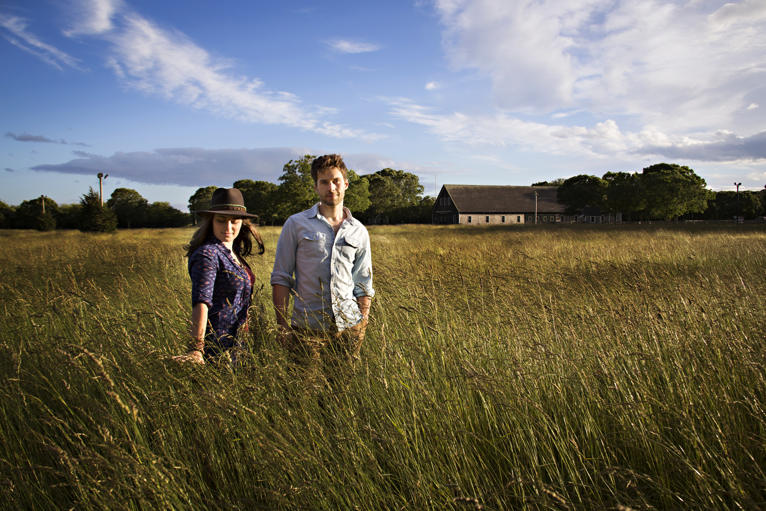 Walker and Danielle were working as artists on the beautiful island of Martha's Vineyard and now travel the country sharing, selling and making their art