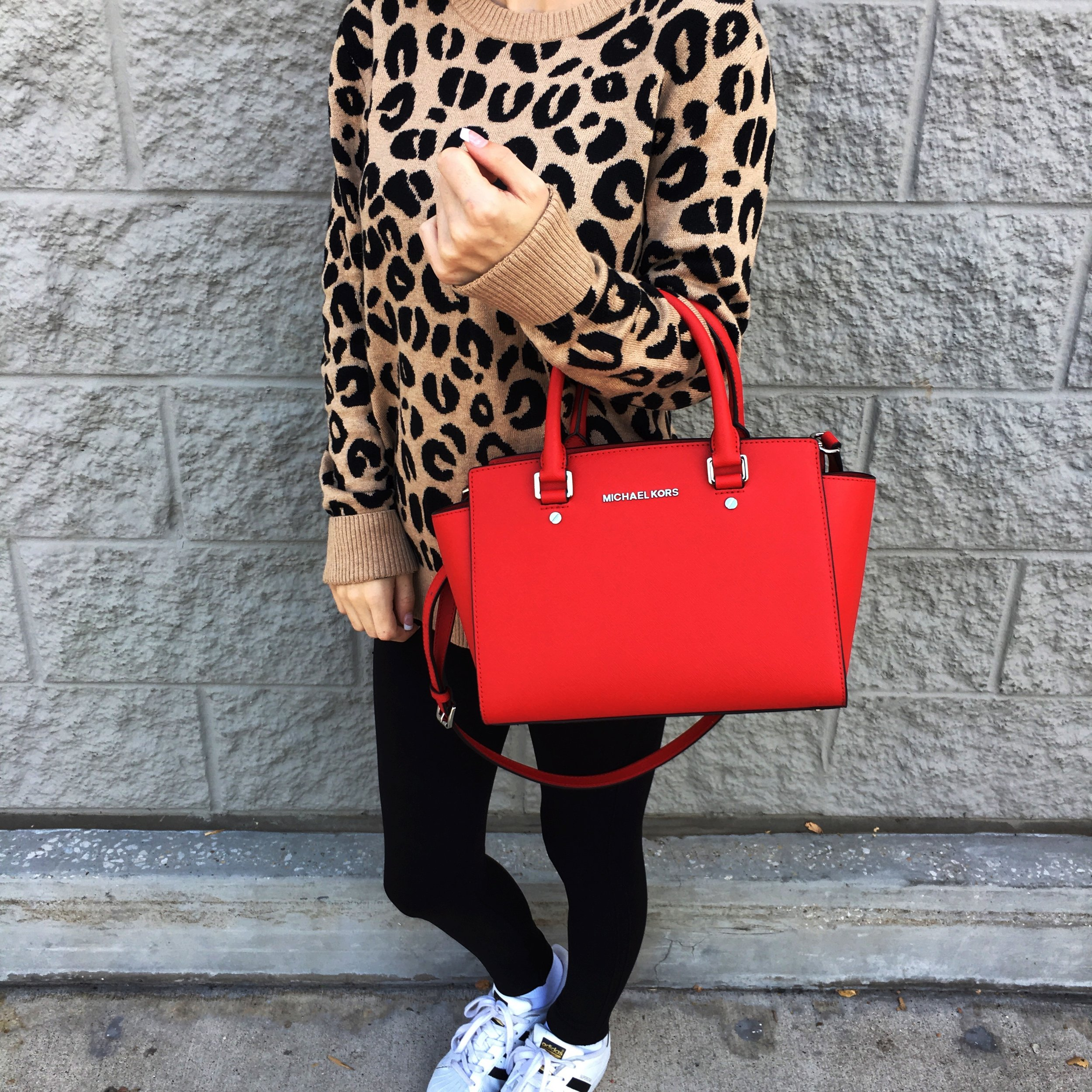 Sweater ,  Leggings ,  Shoes ,  Bag