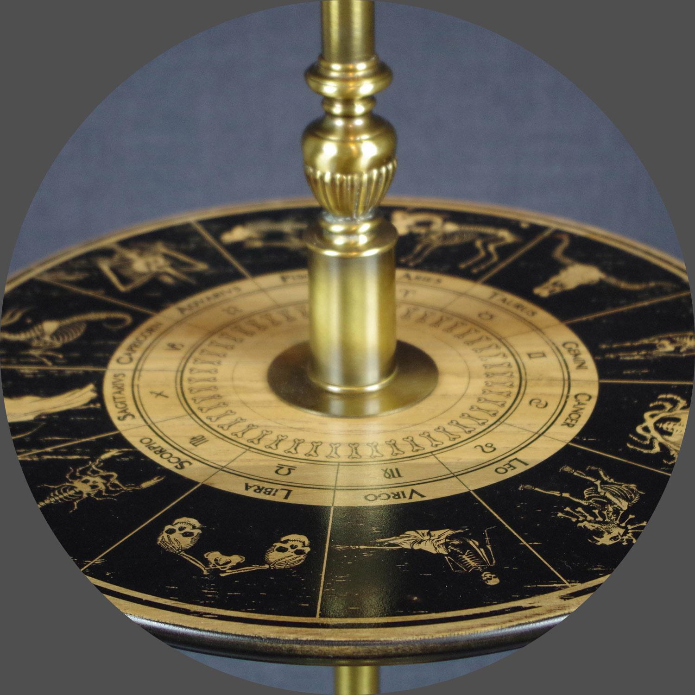 Zodiac Torch Lamp